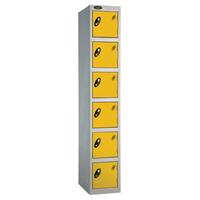 Probe 6 Door - Wide Yellow Locker