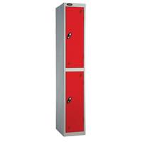 Probe 2 Door - Wide Red Locker