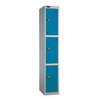 Probe 3 Door - Extra Wide Blue Locker