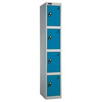 Probe 4 Door - Extra Wide Blue Locker