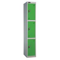 Probe 3 Door - Extra Wide Green Locker