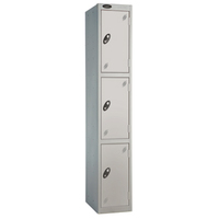Probe 3 Door - Extra Wide Grey Locker