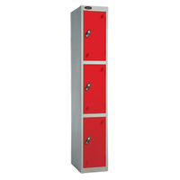 Probe 3 Door - Extra Wide Red Locker