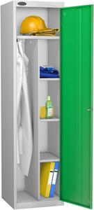 Probe Green Uniform Locker