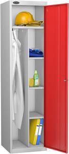 Probe Red Uniform Locker
