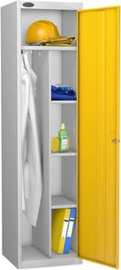 Probe Yellow Uniform Locker