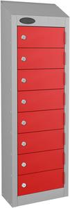 Probe Red Wallet Locker