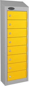 Probe Yellow Wallet Locker