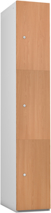 Probe 3 Door - Beech Timberbox Locker