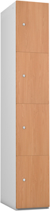 Probe 4 Door - Beech Timberbox Locker