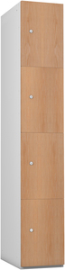 Probe 4 Door - Oak Timberbox Locker