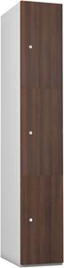 Probe 3 Door - Walnut Timberbox Locker