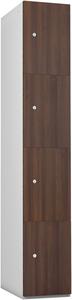 Probe 4 Door - Walnut Timberbox Locker