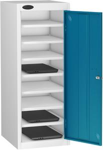 Probe Eight Bay Blue Laptop Locker