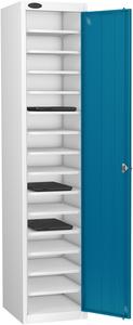 Probe Fifteen Bay Blue Laptop Locker