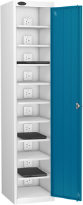 Probe Ten Bay Blue Laptop Locker (charging)