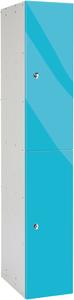 Probe 2 Door - Blue Glossbox Locker