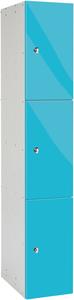 Probe 3 Door - Blue Glossbox Locker