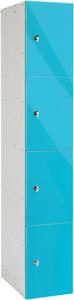 Probe 4 Door - Blue Glossbox Locker