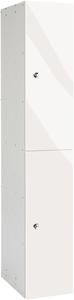 Probe 2 Door - White Glossbox Locker