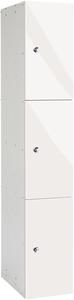 Probe 3 Door - White Glossbox Locker