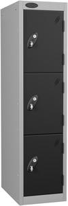 Probe 3 Door - Black Low Locker