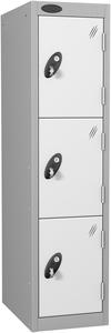 Probe 3 Door - White Low Locker