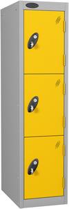 Probe 3 Door - Yellow Low Locker