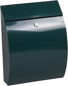 Phoenix Curvo Green - Steel Post Box