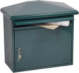 Phoenix Libro Green - Steel Post Box