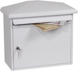 Phoenix Libro White - Steel Post Box