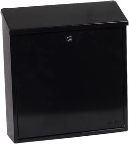Phoenix Casa Black - Steel Post Box