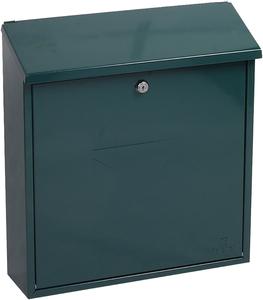 Phoenix Casa Green - Steel Post Box