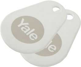 Yale Smart Lock White Key Tag (Twin Pack)
