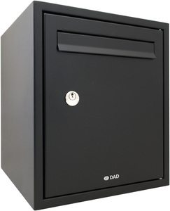 DAD DAD009 Black - Secured by Design Post Box