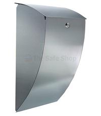 Burg Wachter Milano - Stainless Steel Post Box