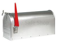 Burg Wachter US Mail Box - Aluminium
