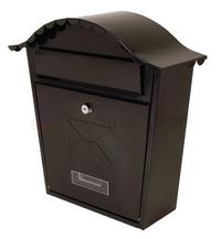 Sterling Classic Black - Steel Post Box