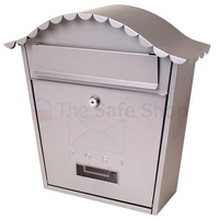 Sterling Classic Silver - Steel Post Box