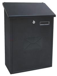 Sterling Grand Black - Steel Post Box