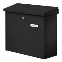 Burg Wachter Comfort Black - Steel Post Box