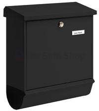 Burg Wachter Comfort Black - Steel Post Box Set