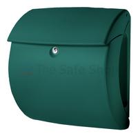 Burg Wachter Kiel Green - Plastic Post Box