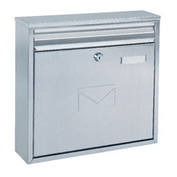 Rottner Teramo - Dual Access Stainless Steel Post Box