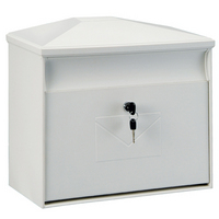 Rottner Toronto White - Plastic Post Box