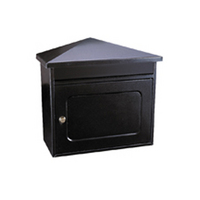 Rottner Worthersee Anthracite - Steel Post Box