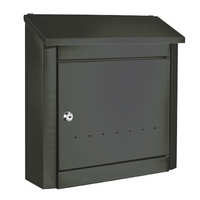 Rottner Trend Anthracite - Steel Post Box