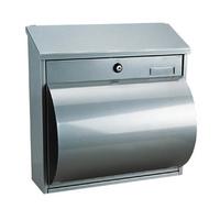 Rottner Wallersee Silver - Steel Post Box