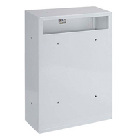 Rottner Indoor White - Rear Access Steel Post Box
