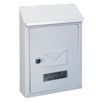 Rottner Udine White - Steel Post Box
